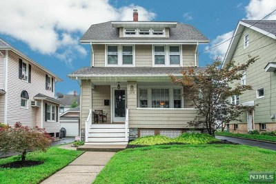Bogota Single Family Home Under Contract: 200 Chestnut Avenue