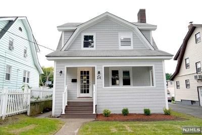 Hackensack Single Family Home Under Contract: 24 Catalpa Avenue