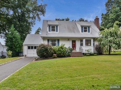 Glen Rock Single Family Home Under Contract: 58 Kenmore Place