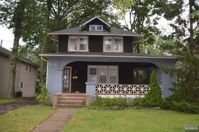 Bergenfield Single Family Home Under Contract: 89 Ralph Street