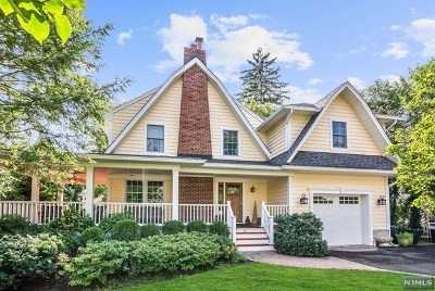 Glen Rock Single Family Home Under Contract: 49 Oxford Place