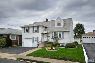 Bergen County Single Family Home Under Contract: 501 Grace Avenue