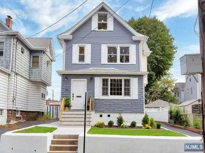 East Rutherford Multi Family 2-4 Under Contract: 96 Humboldt Street