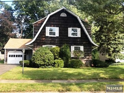Fair Lawn Single Family Home Under Contract: 4-23 4th Street