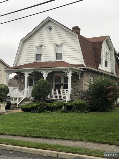 Hasbrouck Heights Single Family Home Under Contract: 257 Springfield Avenue