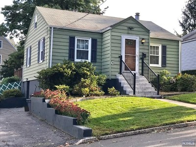 Hasbrouck Heights Single Family Home Under Contract: 47 Franklin Avenue