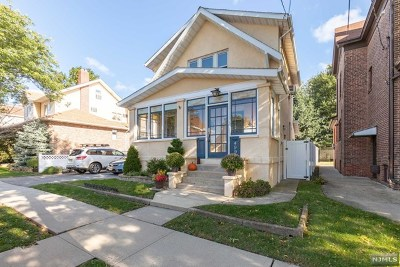 Carlstadt Single Family Home Under Contract: 499 Central Avenue