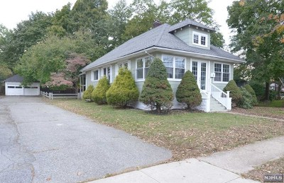 Pompton Lakes Single Family Home Under Contract: 6 Center Street