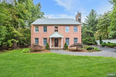 Upper Saddle River Single Family Home Under Contract: 343 Lake Street