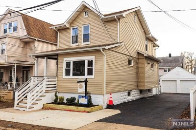 Hudson County Multi Family 2-4 Under Contract: 18 Van Cortland Place