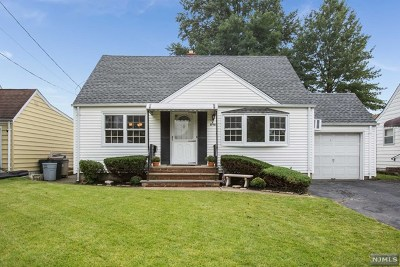 Fair Lawn Single Family Home Under Contract: 4-18 Lambert Road