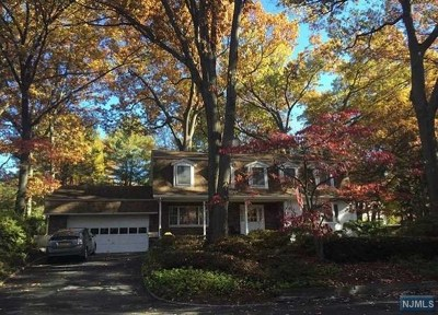 Closter Single Family Home Under Contract: 145 Maple Avenue