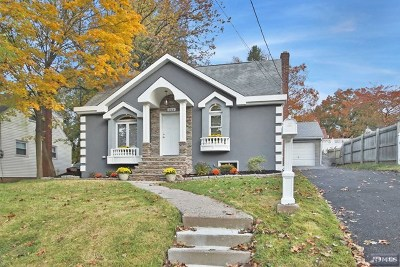 Bergenfield Single Family Home Under Contract: 133 Pleasant Avenue