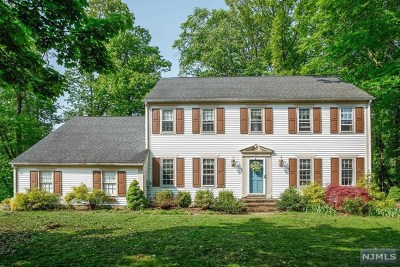 Bergen County Single Family Home Under Contract: 217 Fox Hollow Road