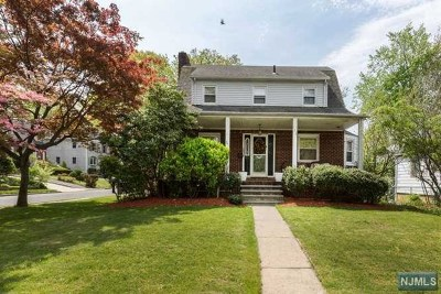 Bergenfield Single Family Home Under Contract: 162 Bradley Avenue