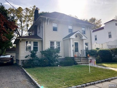 Oradell Single Family Home Under Contract: 613 Cooper Avenue