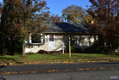 Pompton Lakes Single Family Home Under Contract: 615 Colfax Avenue