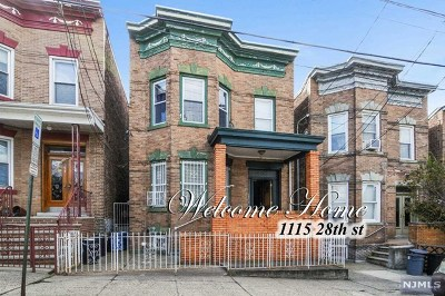 North Bergen Multi Family 2-4 Under Contract: 1115 28th Street