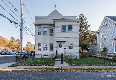 Passaic County Multi Family 2-4 Under Contract: 160 McKinley Avenue