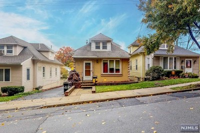 Clifton Single Family Home Under Contract: 49 Hudson Street