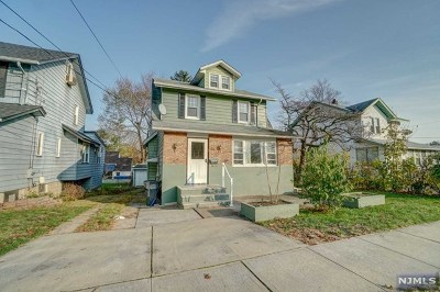 Bergenfield Single Family Home Under Contract: 69 Beucler Place