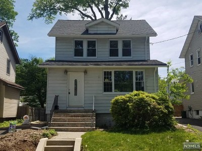 Bergenfield Single Family Home Under Contract: 21 South 1st Street