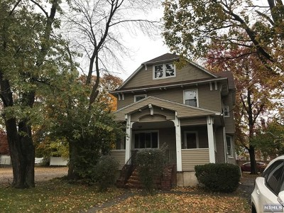 Hackensack Single Family Home Under Contract: 204 Passaic Street