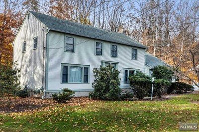 Woodcliff Lake Single Family Home Under Contract: 183 Chestnut Ridge Road