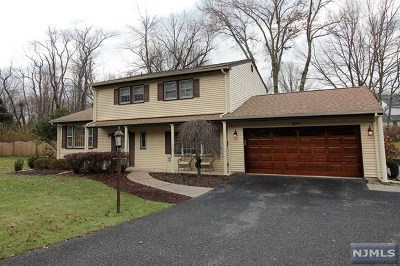 Boonton Town Single Family Home Under Contract: 324 Rexland Drive