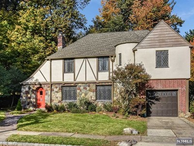 Essex County Single Family Home Under Contract: 123 Overlook Terrace