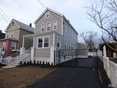 Hackensack Single Family Home Under Contract: 168 Berdan Place