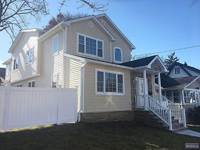 Bergen County Single Family Home Under Contract: 65 Niagara Street