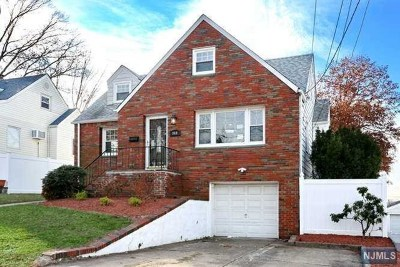 Hackensack Single Family Home Under Contract: 369 Marvin Avenue