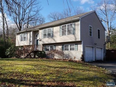 West Milford Single Family Home Under Contract: 5 Newark Road