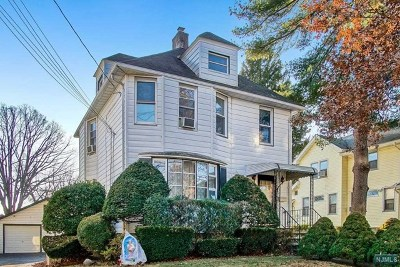 Ridgefield Park Single Family Home Under Contract: 39 Central Avenue