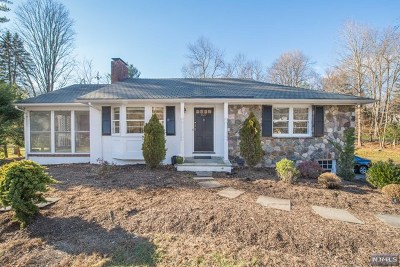 Upper Saddle River Single Family Home Under Contract: 537 East Saddle River Road