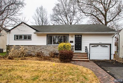 Fair Lawn Single Family Home Under Contract: 9-05 Bush Place