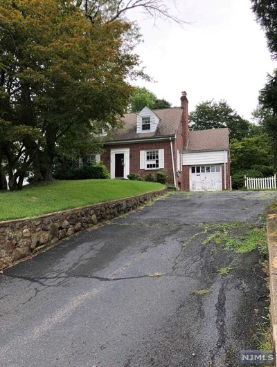 Boonton Town Single Family Home Under Contract: 141 North Main Street