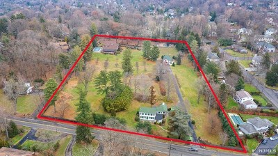 Closter NJ Single Family Home Under Contract: $5,995,000