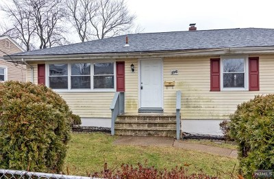 Bergenfield Single Family Home Under Contract: 196 Merritt Avenue