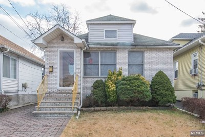 Passaic County Single Family Home Under Contract: 295 Harding Avenue