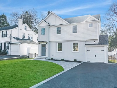 Tenafly Single Family Home Under Contract: 152 West Clinton Avenue