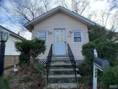 Bergenfield Single Family Home Under Contract: 134 Harcourt Avenue