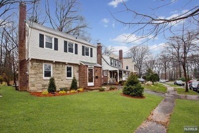 Teaneck Single Family Home Under Contract: 1119 West Laurelton Parkway
