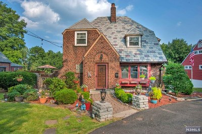 Ridgefield Park Single Family Home Under Contract: 567 Teaneck Road