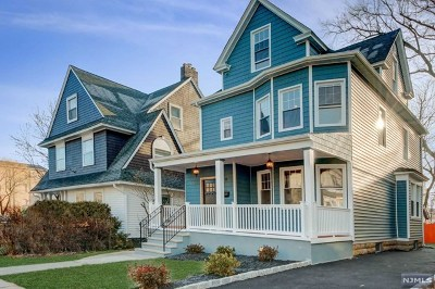 Essex County Single Family Home Under Contract: 20 Gates Avenue