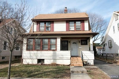 Passaic County Single Family Home Under Contract: 97 North 15th Street