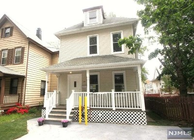 Passaic Single Family Home Under Contract: 23 Crescent Place