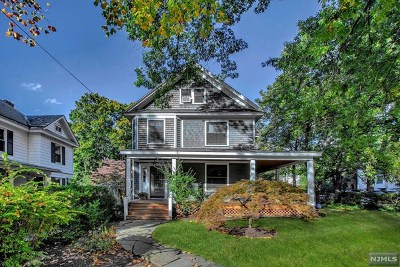 Tenafly Single Family Home Under Contract: 75 Highwood Avenue