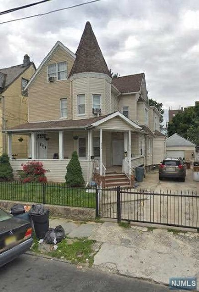 Passaic County Multi Family 2-4 Under Contract: 634-636 East 25th Street